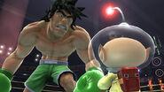 Olimar contra Giga Mac SSB4 (Wii U)