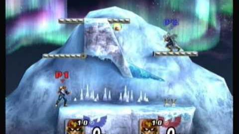 Super Smash Bros Brawl Captain Falcon Glitch
