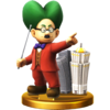 Trofeo de Dr. Wright SSB4 (Wii U)