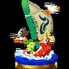 Trofeo de Mascarón Rojo SSB4 (Wii U)