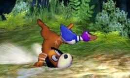 Ataque fuerte lateral de Dúo Duck Hunt SSB4 (3DS)