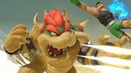 Bowser junto a Little Mac SSBU