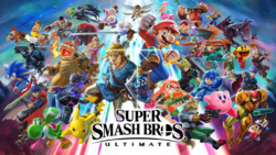 Ilustración Super Smash Bros. Ultimate