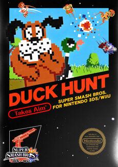 Ilustracion del Dúo Duck Hunt SSB4