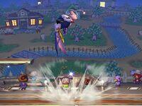Lanzamiento superior Meta Knight SSBB (1)