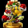 Trofeo de Bowser (Moto de Bowser) SSB4 (Wii U)