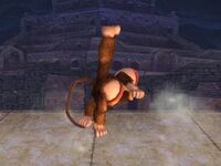 Ataque Smash superior Diddy Kong SSBB