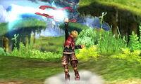 Ataque fuerte superior Shulk SSB4 (3DS)