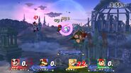 Batalla final de Mundo Smash SSB4 (Wii U)
