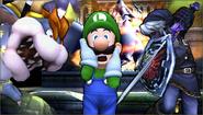 Créditos Modo Senda del guerrero Luigi SSB4 (3DS)