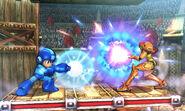 Mega Man y Samus - Coliseo Regna Ferox (SSB. for 3DS)