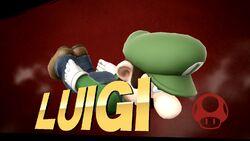 Pose de victoria 1 (2) Luigi SSB4 (Wii U)