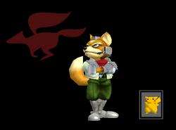 Pose de victoria Fox X (2) SSBM
