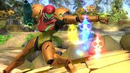 Samus en Garden of Hope SSB4 (Wii U)