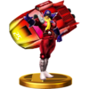 Trofeo de Blood Falcon SSB4 (Wii U)