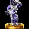 Trofeo de Panther Caroso SSB4 (Wii U)