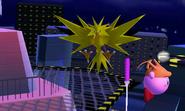 Zapdos en la Torre Prisma SSB4 (3DS)