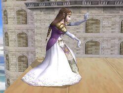Agarre Zelda SSBB