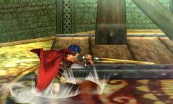 Ataque de recuperación boca abajo Ike (2) SSB4 (3DS)