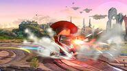Ataque de recuperación boca arriba (1) Tirador Mii SSB4 Wii U