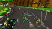 Caparazón azul en Mario Kart Wii