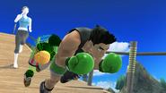 Créditos Modo Senda del guerrero Little Mac SSB4 (Wii U)