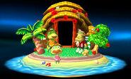Diseño de trofeo - Isla Tortimer (AC New Leaf) - (SSB. for 3DS)