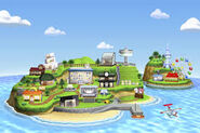 Isla en Tomodachi Life