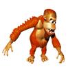 Pegatina de Manky Kong SSBB
