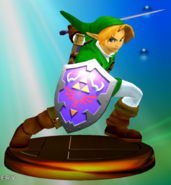 Trofeo de Link (Smash 1) SSBM