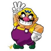 Wario en Wario Land The Shake Dimension