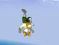 Ataque aéreo hacia arriba de Fox SSBM