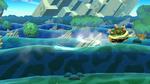 Fortaleza deslizante SSB4 (Wii U)