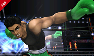 Little Mac en el Ring de Boxeo del SSB4 (3DS)