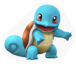 Pegatina Squirtle SSBB