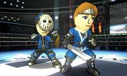 Sombreros de los Luchadores Mii SSB4 (3DS)
