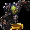 Trofeo de Pesadilla (Metroide) SSB4 (Wii U)