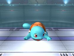Ataque fuerte lateral Squirtle SSBB