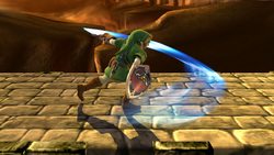 Ataque normal de Link (2) SSB4 (Wii U)