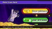 Entrada a Retos Crazy Hand SSB4 (Wii U)