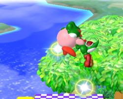 Lanzamiento hacia arriba de Kirby (1) SSBM