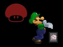 Pose de victoria Luigi X (2) SSBM