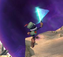 Prímido espadachín atacando (6) ESE SSBB