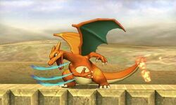 Ataque normal de Charizard (2) SSB4 (3DS)