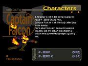 Biografía de Captain Falcon SSB