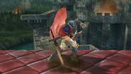 Burla inferior de Ike (1) SSB4 (Wii U)