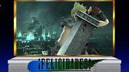 Créditos Modo Senda del guerrero Cloud SSB4 (Wii U)