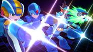 Créditos Modo Senda del guerrero Mega Man SSB4 (Wii U)