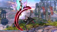 Lanzamiento Hacia Arriba Bayonetta SSB Wii U