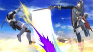 Lucina usando Tajo Delfín contra Sheik SSB4 (Wii U)